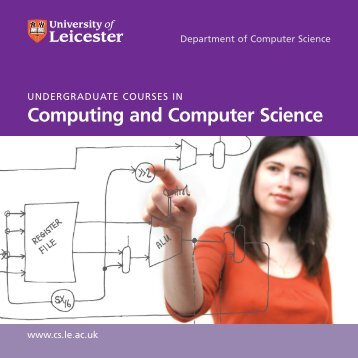 Undergraduate brochure - University of Leicester