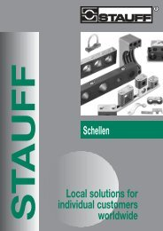 Schellen Local solutions for individual customers worldwide - Stauff