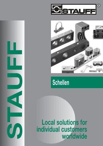 Schellen Local solutions for individual customers worldwide - Stauff