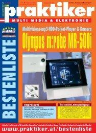 Olympus m:robe MR-500i: Multivisions-mp3 ... - HOME praktiker.at