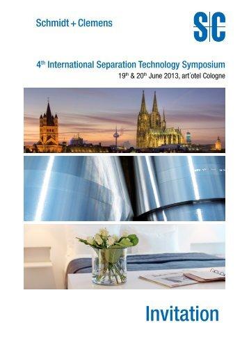 Invitation - Schmidt+Clemens