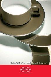 Design: Prof. h. c. Peter Schmidt · Decor: Studio Arzberg