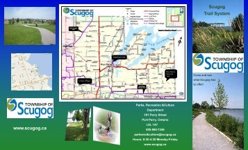 trails brochure 2 - the Township of Scugog
