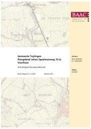 Bijlage 2 Archeologisch bureauonderzoek, gemeente Teylingen ...