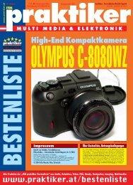 OLYMPUS C-8080WZ: High-End Kompaktkamera - ITM praktiker ...