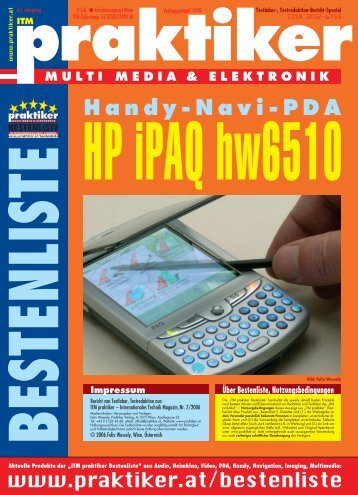 HP iPAQ hw6510: Handy-Navi-PDA - ITM ...  - HOME praktiker.at