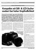 Olympus E-330: Kompakt-Spiegelreflexkamera ... - HOME praktiker.at - Seite 2