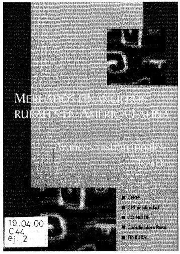 Page 1 Page 2 MERCADOSÍFINANCIEROS RURALES EN ...