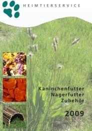 Kräuter, Blüten & Blätter - Heimtierservice Katharina Schlechter