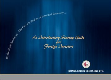 An Introductiory Startup Guide for Foreign Investors - Dhaka Stock ...