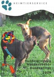 Hundespielzeug - Futtersuche - Heimtierservice Katharina Schlechter