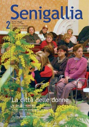 (apr/mag 2006) anno 6 numero 2 - Comune di Senigallia
