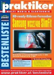 Samsung WS32Z409 SlimFit: HD-ready-Röhren-Fernseher - ITM  ...