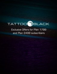 Exclusive Offers for Plan 1799 and Plan 2499 subscribers - Globe