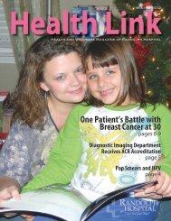 Winter 2012 Issue - Randolph Hospital