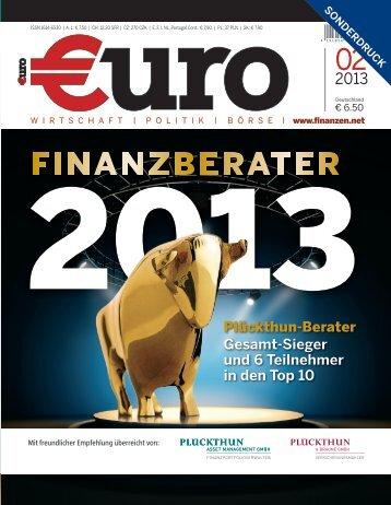 Bericht in der Sonderausgabe des €uro 02/2013 [PDF] - Plückthun ...