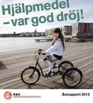 Årsrapport 2013 - RBU