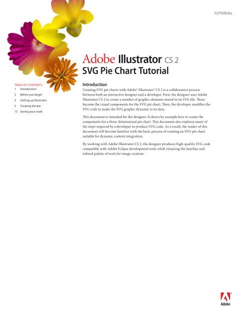 Adobe Illustrator Cs2 Svg Pie Chart Tutorial