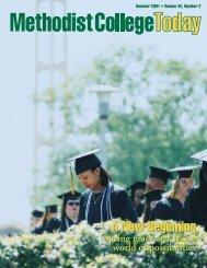A New Beginning A New Beginning - Methodist University