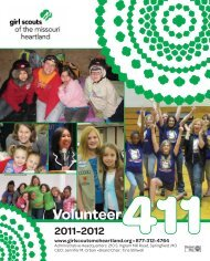 low resolution version - Girl Scouts of the Missouri Heartland