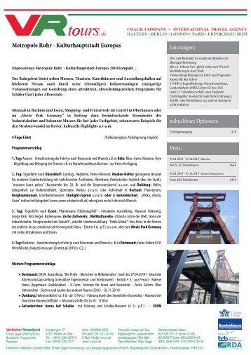 Metropole Ruhr - Kulturhauptstadt Europas