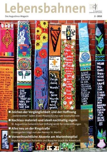 Ausgabe 2010-2 - St. Augustinus Gelsenkirchen GmbH