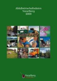 Abfallwirtschaftsdaten Vorarlberg 2009