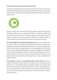 City Professionals join forces to promote low carbon bond market ...
