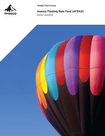 Invesco Floating Rate Fund Educational Brochure (PDF)