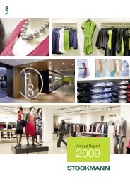 Annual Report 2009 - Stockmann Group