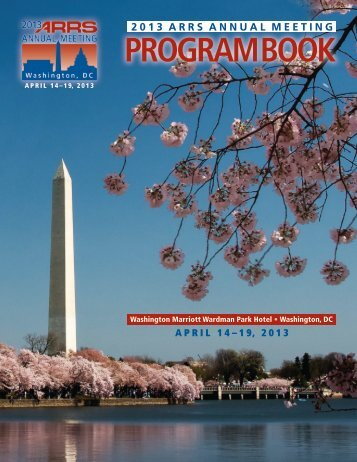 Download Program Book - American Roentgen Ray Society