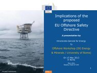 Implications of the proposed EU Offshore Safety Directive - Unmig
