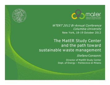 a feasibility study on sustainable wastewater Find waste management feasibility study articles water & wastewater this article discusses how sustainable development and quality management meet a common.