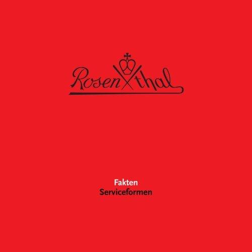 Form - Rosenthal