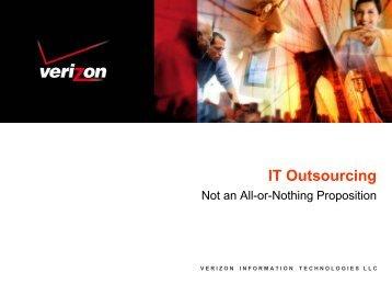 IT Outsourcing - Verizon