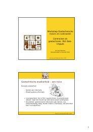 Contracten en geotechniek - Jan Jaap Heerema - Geonet