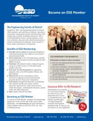 Become an ESD Member