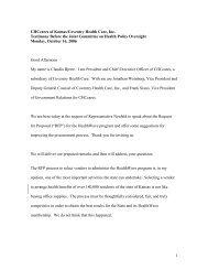 Bjerre KPHA Testimony 10-16-06