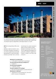 BRE/EOF Waageningen - De Store Bygningers Økologi