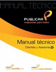 Manual tecnico clientes asesores