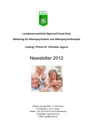 Newsletter 2012 - LSF Graz