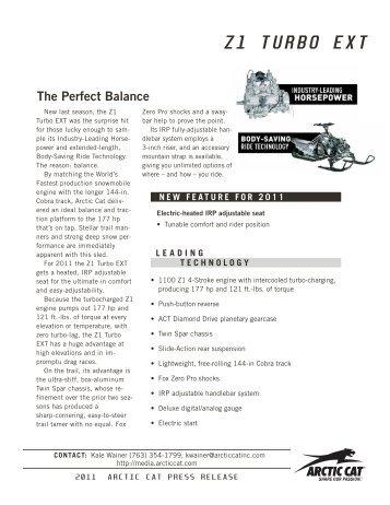 arctic cat 2012 proclimb xf 1100 turbo pdf