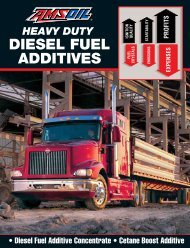 G1104 - Heavy Duty Diesel Fuel Additives - Amsoil