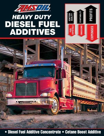 G1104 - Heavy Duty Diesel Fuel Additives - Amsoil