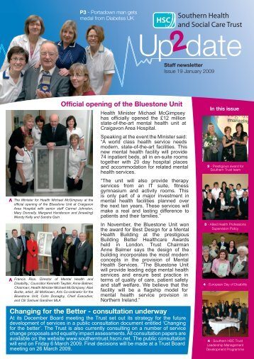 Issue 19 - Southern Health and Social Care Trust