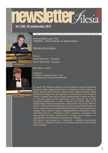 40 (156) 28 października 2012 1 - Silesia