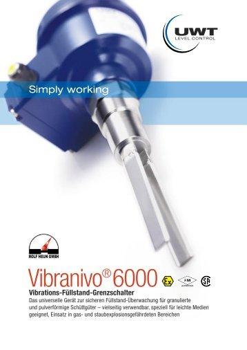 Vibranivo®6000 - Ing. Rolf Heun Meß-Prüf-Regeltechnik GmbH