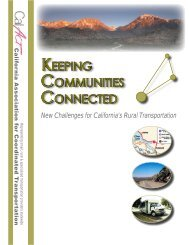 Keeping Communities Connected (.pdf) - CalACT