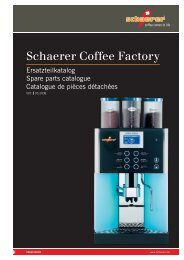 Schaerer Coffee Factory - Automatic Coffee Machines | Schaerer