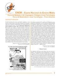 21 ENEm Exame Nacional do Ensino médio 04/11/2012 - CPV